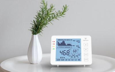 luchtkwaliteit meten in huis